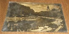 Vintage Postcard RPPC - Aura river Turku Abo Finland - Turku Cancel