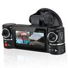 "2.7"" TFT LCD Dual Camera Rotated Lens Car DVR Vehicle Video Recorder Dash Cam"