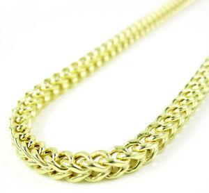 30-034-3-5mm-18-Grams-Mens-10k-Yellow-Gold-Franco-Box-Cuban-Hip-Hop-Chain-Necklace