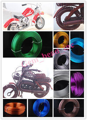 Free Shipping DIY 1mm 1.5mm 2mm Aluminum Wire Jewelery Making Craft Wrap 2Meter