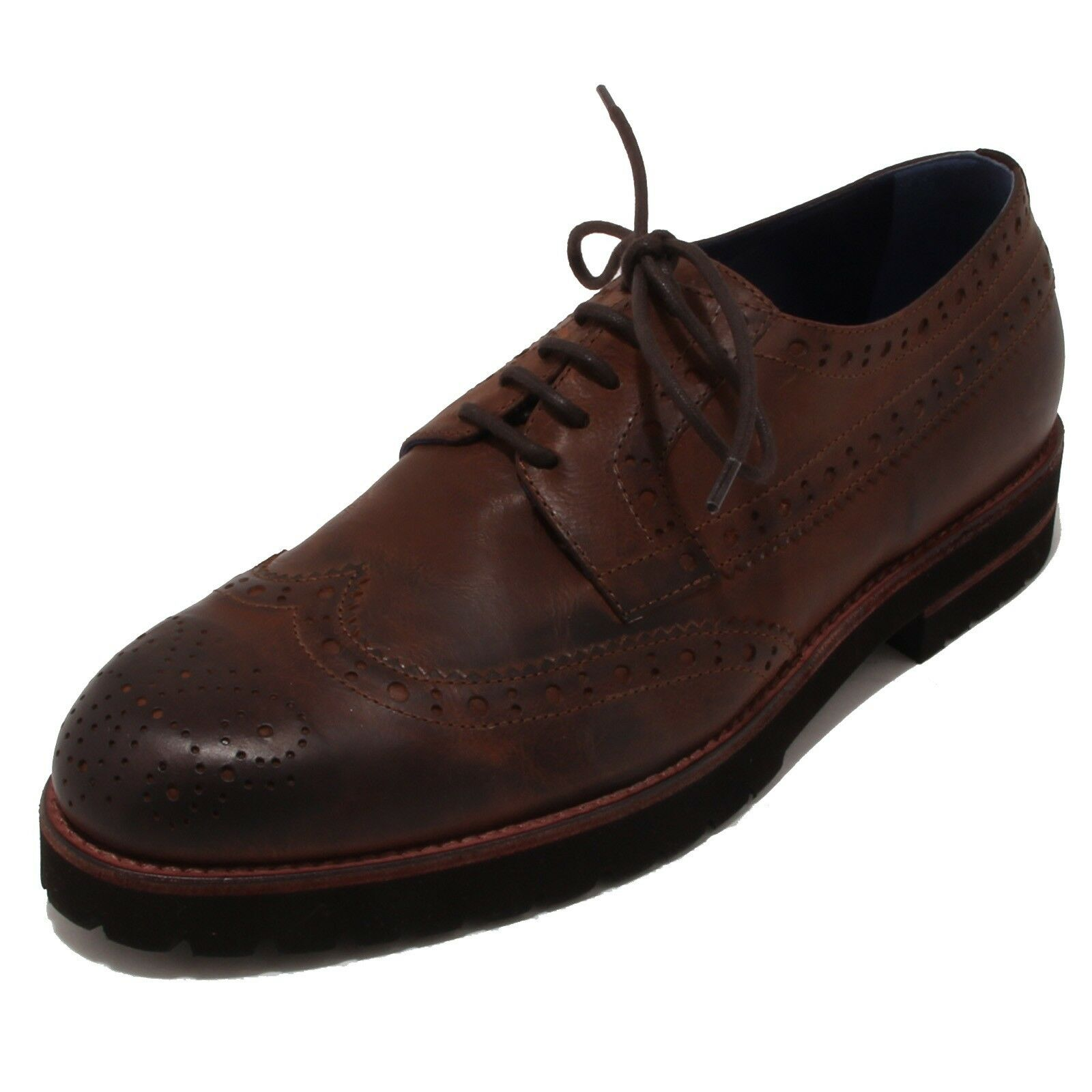 4220p shoes Laced One 8 One Brown Men shoes Men