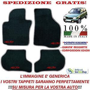Scegli Colori e Qualità! Tappeti Nissan Micra 2 Tappetini Auto Personalizzati