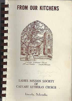 LINCOLN NE ANTIQUE * CALVARY LUTHERAN CHURCH * OUR ...