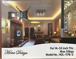 TV-Wall-Bracket-Mount-Full-Motion-Swivel-LCD-LED-Plasma-14-034-26-034-32-034-37-034-42-034-55-034