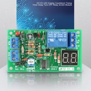 dc12v led module de temporisateur de retard de module de relais de minuterie ebay. Black Bedroom Furniture Sets. Home Design Ideas