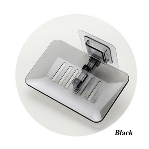 Nouveau drain de rangement salle de bain cristal Boîte à savon mural Dish Rack