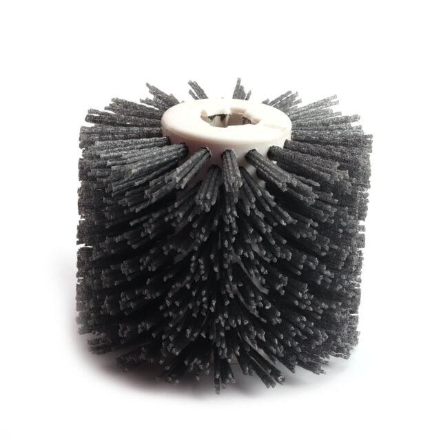 Wire Drawing Wheel Brush Drum Burnishing Polishing Buffer Wheel #180Grit