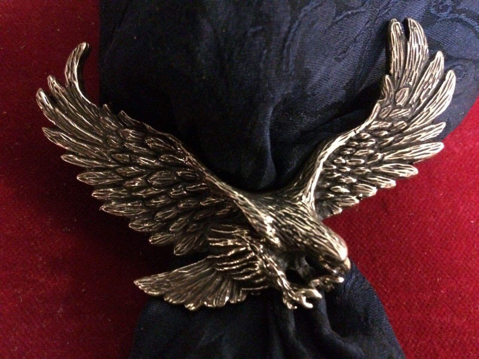 Scarf Slide Wild Rag Slide  Bronze Eagle Landing,