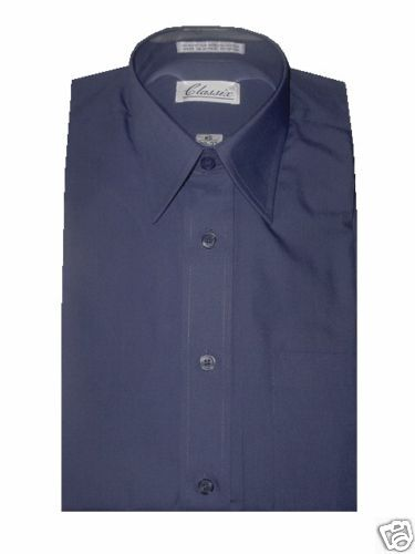 CLASSIX  Herren DRESS SHIRT FRENCH Blau XL 17 - 17.5 32 33