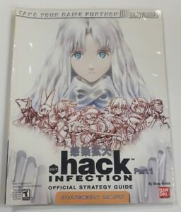 Dot-Hack-Part-1-Infection-Official-Strategy-Guide-Brady-Games-Good-Condition