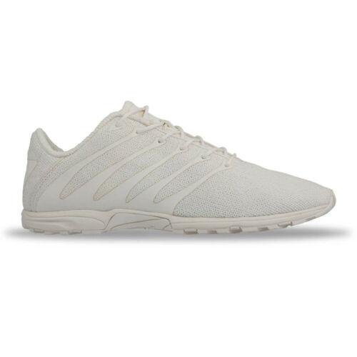 Inov8 Mens F-Lite 195 Classic Training Gym Fitness Shoes White Sports Breathable