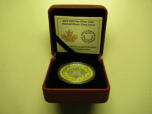 2014-Proof-20-Stained-Glass-2-Casa-Loma-Canada-9999-silver-twenty-dollars
