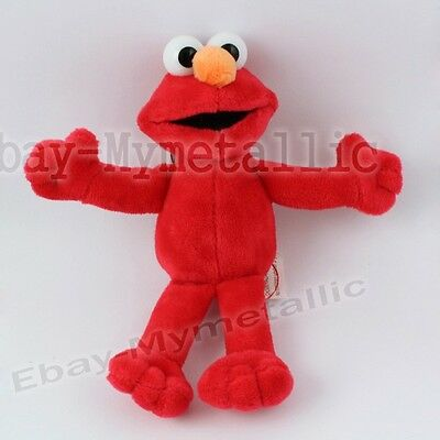 "Sesame Street Elmo 16cm / 6.4"" Soft Plush Stuffed Doll Toy"