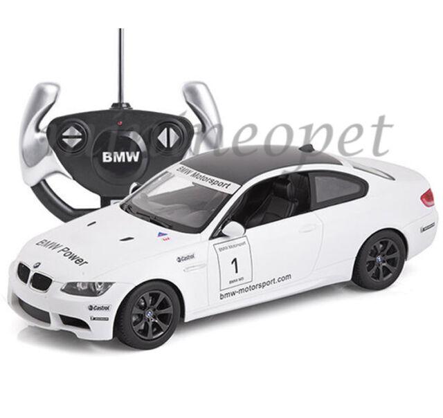 Rastar 48000 R C Radio Remote Control Car Bmw M3 1 14