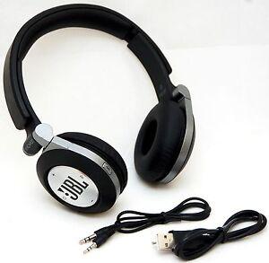JBL-E40BT-BLACK-Synchros-Bluetooth-Folding-Stereo-Headphones-w-Mic-iPad-4-3-2-1
