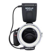 Mcoplus Speedlite Mrf32 Fc100 Led Macro Ring Flash Light 5500k For Canon Nikon