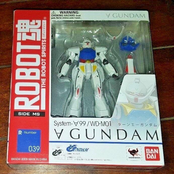 NIP Robot Spirits Side MS System - A99/WD-M01 A Gundam Figure