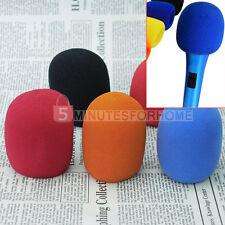 5 Spugna Copri Microfono Universale Coperture Antivento Vari Colori Ricambi