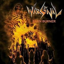 WARSENAL-BARN BURNER-CD-thrash-speed-deathhammer-witchtrap-midnight