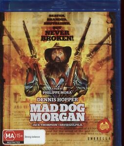 MAD-DOG-MORGAN-Dennis-Hopper-Jack-Thompson-David-Gulpilil-Blu-Ray
