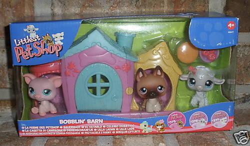 Littlest Pet Shop BOBBLIN BARN RARE Shepherd Not released in US