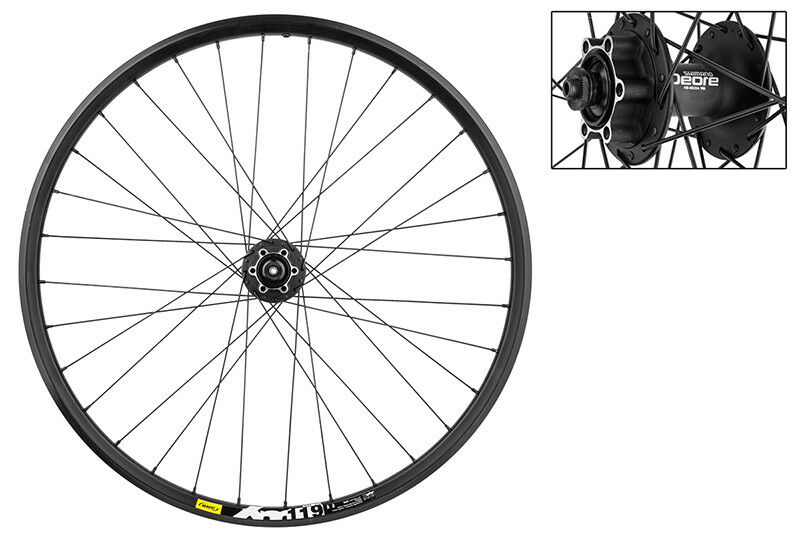 WM Wheel  Front  26x1.5 559x19 Mav Xm119 Disc Bk 32 M525 Bk Dti2.0bk  fantastic quality