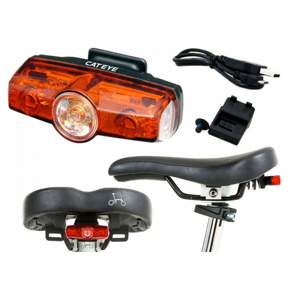 Brompton CatEye Rapid Mini USB  rechargeable Rear Lights for late 2016 2017 2018  official authorization