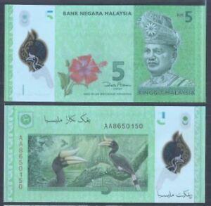 Malaysia-RM5-12th-Series-Zeti-Polymer-1st-Prefix-AA-UNC-AA-8650150
