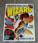Wizard #138 2002 Alex Ross Spider-Man Thundercats Battle Planets PROMO Poster VG
