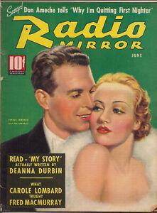 RADIO-MIRROR-JUNE-1937-CAROLE-LOMBARD-amp-FRED-MAC-MURRAY-TCHETCHET-cover