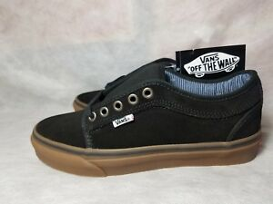 000f65b9a3 New Vans Chukka Low Pro Gum Suede Work Wear Black Brown Skate Shoe ...