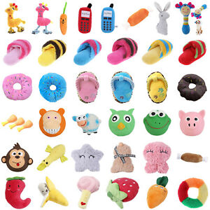 Pet-Dog-Chew-Squeaker-Squeaky-Plush-Silicone-Toy-Puppy-Funny-Sound-Toys-Gifts