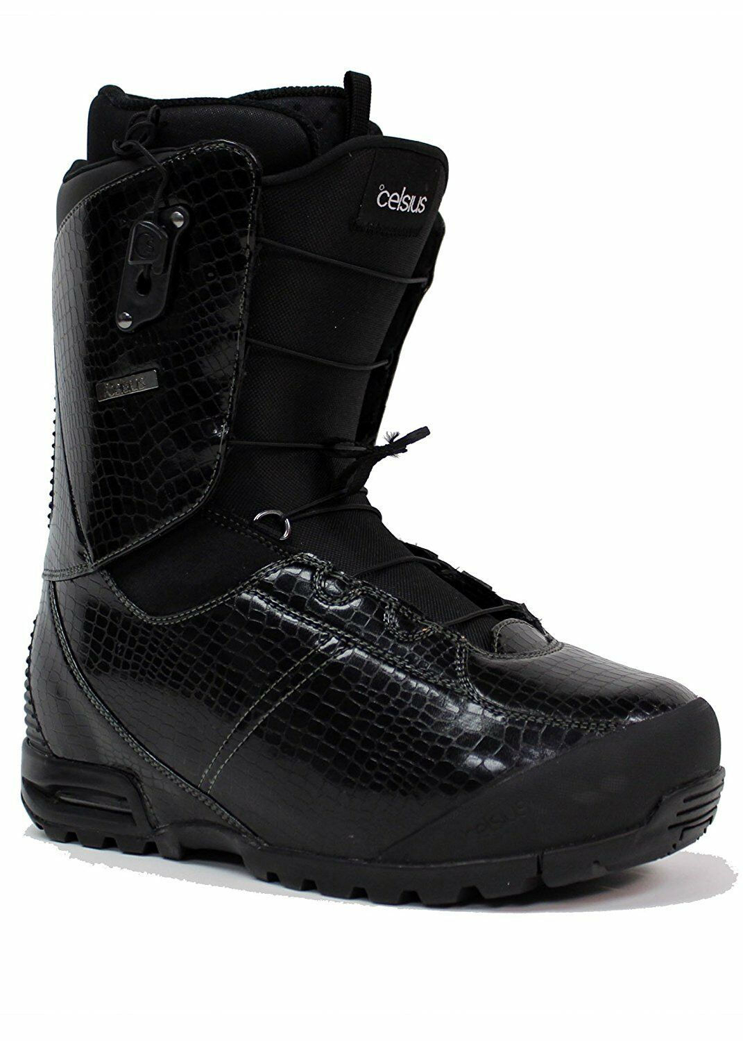 Celsius Manchester Men's Snowboard Boots US  Size 7 (Stiff, Ozone Speed Lace)  all products get up to 34% off