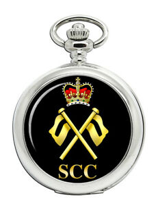 Sea-Cadets-SCC-Signale-Abzeichen-Taschenuhr