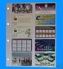 100 Telefonkartenhüllen A4 zum Abheften  Sparpreis !