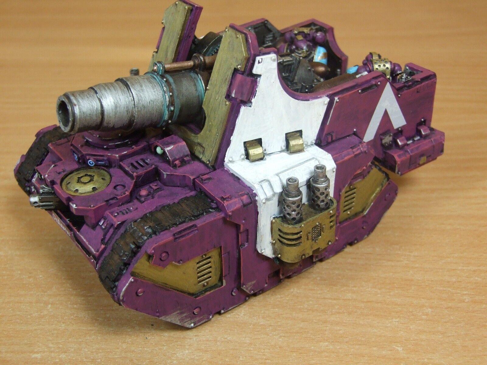 Forgeworld emperadores niños Medusa bien pintados del tanque (l)