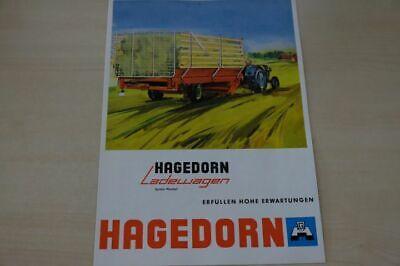 198111) Hagedorn - Ladewagen - Prospekt 1964