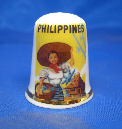 Free Dome Box Travel Poster Series Birchcroft China Thimble Philippines