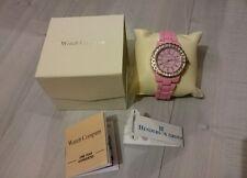 The Watch Company Quartz baby pink gemstone watch