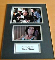 Fiona Shaw SIGNED autograph A4 Photo Mount Display Harry Potter Film & COA