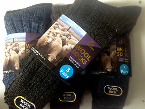 6-pairs-mens-Chunky-wool-boot-socks-hiking-THERMAL-WARMTH-winter-work-SE11