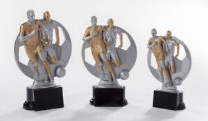 Pokal 3er Serie Fußball Pokale inkl.Gravuren alle Sportarten möglich