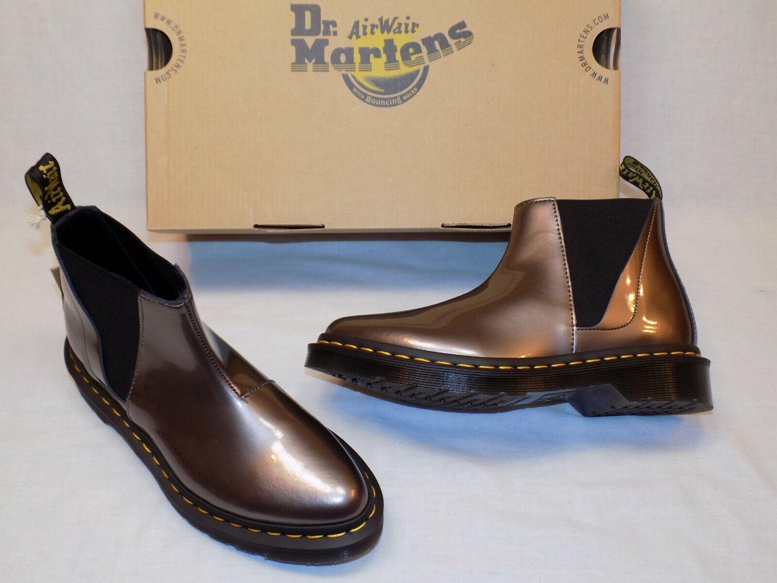 Nuevo Para Mujeres Dr. Martens Air Wair blanco Chelsea botas Estaño Spectra Patente de EE. UU. 6