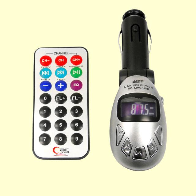 fm transmitter kabellos musik vom handy oder mp3 player zum radio senden g nstig kaufen ebay. Black Bedroom Furniture Sets. Home Design Ideas