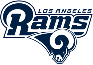 Los Angeles Rams vinyl sticker for skateboard luggage laptop tumblers car a