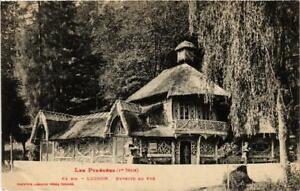 CPA-Luchon-Buvette-du-Pre-611999