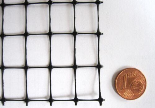 Geflügelnetz 15x22 mm schwarz 1,5mx100m Geflügelzaun Volierennetz Tiergehege