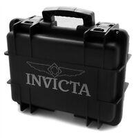Brand Invicta Black Eight Slot Impact Diver's Collector Case/box