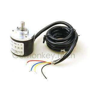 Encoder-400P-R-Incremental-Rotary-Encoder-AB-Phase-Encoder-6mm-Shaft