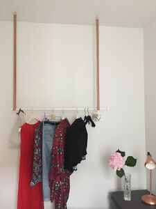 Hängende Kleiderstange individualisierbar design hängende kleiderstange kleiderständer